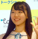 STU48の土路生優里=東京・銀座「ひろしまブランドショップTAU」 (C)ORICON NewS inc.