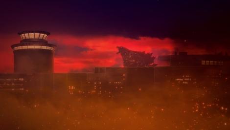 アニメーション映画『GODZILLA 怪獣惑星』(11月17日公開)予告編より。場面カット(C)2017 TOHO CO.,LTD.