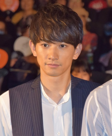 『HiGH&LOW THE MOVIE 2/END OF SKY』公開初日舞台あいさつに出席した町田啓太 (C)ORICON NewS inc.