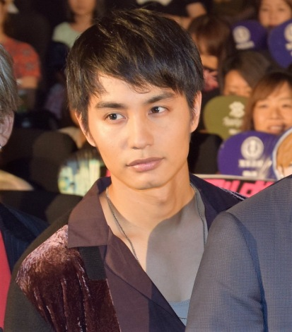 『HiGH&LOW THE MOVIE 2/END OF SKY』公開初日舞台あいさつに出席した中村蒼 (C)ORICON NewS inc.