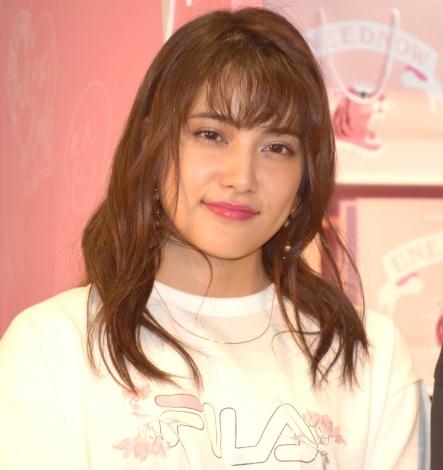 ファッションブランド『UNEEDNOW』のポップアップストアのオープニングイベントに参加したAKB48・入山杏奈 (C)ORICON NewS inc.