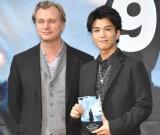 (左から)クリストファー・ノーラン監督、三代目 J Soul Brothers・岩田剛典 (C)ORICON NewS inc.
