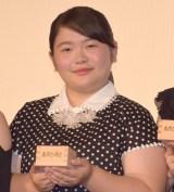 映画『あさひなぐ』完成披露上映イベントに登壇した富田望生 (C)ORICON NewS inc.