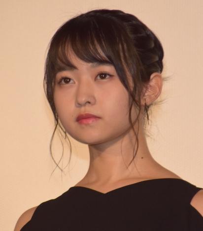 映画『あさひなぐ』完成披露上映イベントに登壇した伊藤万理華 (C)ORICON NewS inc.