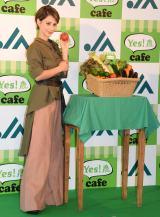 『Yes! 農cafe』のオープンイベントに出席したダレノガレ明美 (C)ORICON NewS inc.
