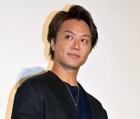 結婚後初の公の場に登場したEXILE TAKAHIRO=劇場版『HiGH&LOW THE MOVIE 2 END OF SKY』の大ヒット御礼舞台あいさつ (C)ORICON NewS inc.