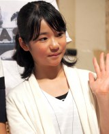 連続テレビ小説『ひよっこ』クランクアップ取材会に出席した宮原和 (C)ORICON NewS inc.