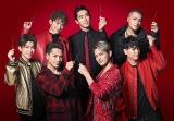 新TV-CM「シェアハピ・7人登場」篇に出演する三代目 J Soul Brothers