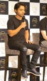 5日に行われた新会社設立記念イベントに出席した『me&stars』の取締役CIO・山田孝之