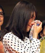 連続テレビ小説『ひよっこ』クランクアップ取材会に出席した有村架純 (C)ORICON NewS inc.