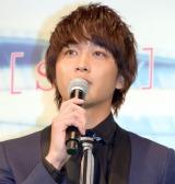 映画『恋と嘘』完成披露舞台あいさつに出席した佐藤寛太 (C)ORICON NewS inc.