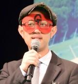 映画『恋と嘘』完成披露舞台あいさつに出席したゲッターズ飯田 (C)ORICON NewS inc.