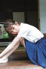 『週刊ヤングジャンプ』41号に登場した松川菜々花(C)Takeo Dec./集英社