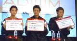 """""""カラオケ十八番""""トップ3を発表=『LIVE DAM STADIUM STAGE』商品発表会 (C)ORICON NewS inc."""
