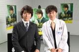 テレビ朝日系ドラマ『遺留捜査』で共演する上川隆也(左)と甲本雅裕(右)(C)テレビ朝日