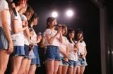 NGT48劇場で行われたチームNIII公演の模様(C)AKS
