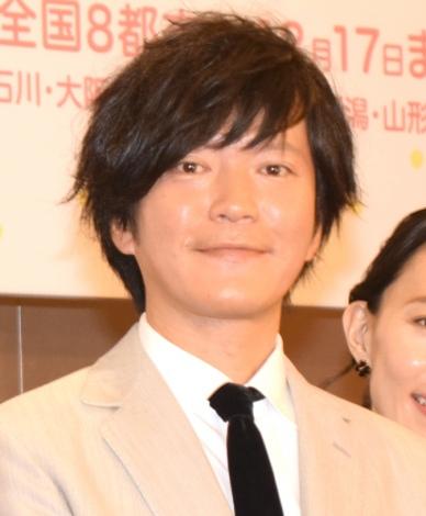 舞台『誰か席に着いて』の製作発表会見に出席した田辺誠一 (C)ORICON NewS inc.