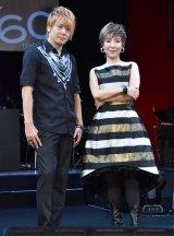(左から)植木豪、戸田恵子 (C)ORICON NewS inc.