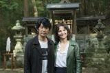 奈良・吉野で撮影を行っている