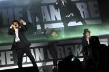 オープニングで新曲「全員集合」を披露するKICK THE CAN CREW(撮影:岸田哲平&中河原理英)