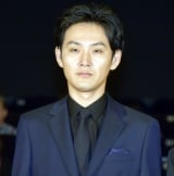映画『散歩する侵略者』公開初日舞台あいさつに登壇した松田龍平 (C)ORICON NewS inc.