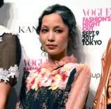 『VOGUE FASHION'S NIGHT OUT 2017』オープニングセレモニーで中島美嘉がスペシャルライブ (C)ORICON NewS inc.