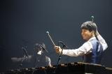 自身最大規模ツアーでマリンバ演奏を披露した星野源 Photo by 西槇太一