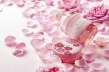 バラの一種ダマスクローズを高配合した全身用保湿クリームと化粧水