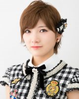 AKB48の50thシングル選抜メンバーの岡田奈々(AKB48/STU48)(C)AKS