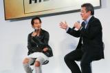 『TOYOTA SUVシリーズ PRイベント』に出席したクリエイティブディレクターの(写真左より)小橋賢児、前田昌彦チーフエンジニア (C)oricon ME inc.