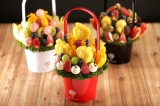 旬の果実を使ったフルーツブーケの秋新作