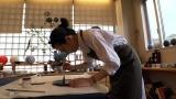 9月12日放送、関西テレビ・フジテレビ系『7RULES(セブンルール)』美文字ブームの火付け役となった書家の中塚翠涛さんに密着(C)関西テレビ