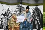 世界遺産・平等院で行われた映画『スター・ウォーズ/最後のジェダイ』成功祈願イベント