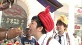 インドの三四郎は「ファイアーパーン」を体験し、この後大変なことに(C)テレビ朝日