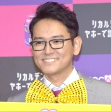 『リカルデント×ナイツ』キャンペーンアンバサダー就任記念イベントに出席したナイツ・土屋伸之 (C)ORICON NewS inc.