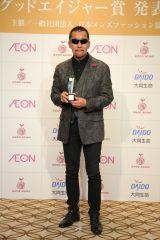 『2017年 第15回グッドエイジャー賞』授賞式に出席した蝶野正洋
