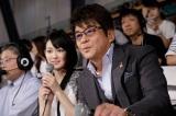 白熱した戦いに哀川翔、吉本実憂もを釘付けに(C)NHK