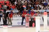 9月18日放送、NHK総合『あっぱれロボコン!〜ABUロボコン東京大会2017』東京工業大学が出場(準決勝敗退)(C)NHK