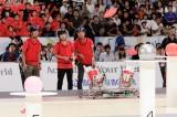 9月18日放送、NHK総合『あっぱれロボコン!〜ABUロボコン東京大会2017』東京大学が出場(準々決勝敗退)(C)NHK
