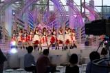 9月18日放送、テレビ朝日系『ミュージックステーション ウルトラFES 2017』リハーサルを行ったモーニング娘。'17(C)テレビ朝日