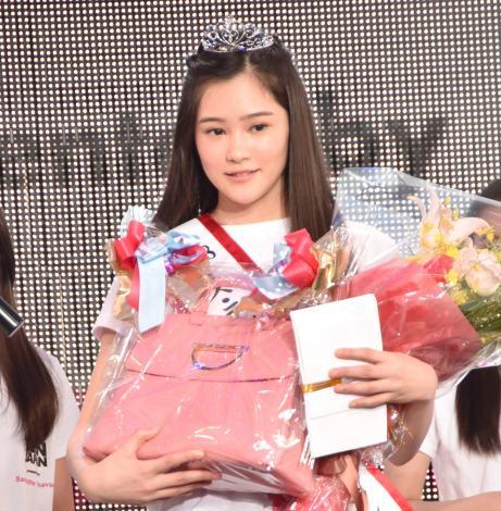 『2018ミス・ティーン・ジャパン』グランプリの佐藤梨紗子さん (C)ORICON NewS inc.