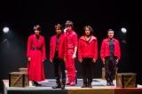 ムッシュ・モウソワール第2回来日公演作品『レッド・ジャケット』ゲネプロの模様