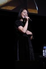 『いぬねこなかまフェス 2017 〜動物愛護週間に集まろう〜』に出席し、「あなたに会えてよかった」を熱唱する小泉今日子