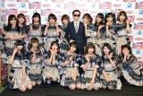 新衣装で『ミュージックステーション ウルトラFES 2017』に出演するAKB48 (C)ORICON NewS inc.