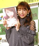 写真集『Stagedoor』の発売記念イベント前囲み取材に出席したAKB48・木崎ゆりあ (C)ORICON NewS inc.