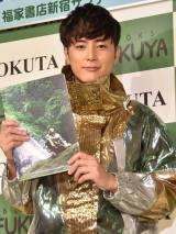 2nd フォトブック『GREENHORN』をPRする間宮祥太朗 (C)ORICON NewS inc.