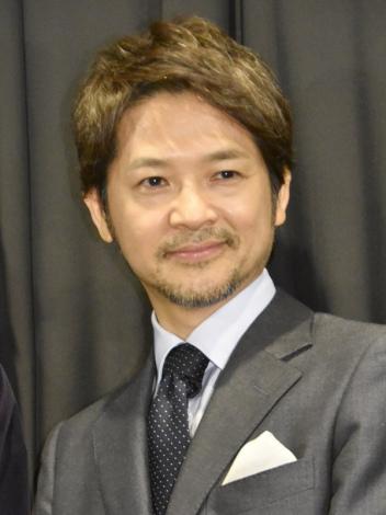 映画『望郷』初日舞台あいさつに登壇した緒形直人 (C)ORICON NewS inc.