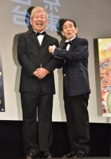 (左から)土屋敏男監督、萩本欽一 (C)ORICON NewS inc.