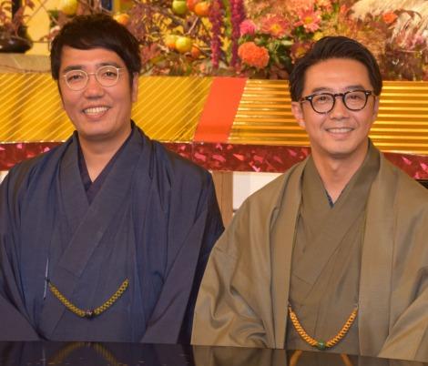 TBS系バラエティー特番『ぶっこみジャパニーズ9』の収録を行ったおぎやはぎ (C)ORICON NewS inc.