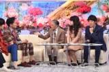 TBS『歌のゴールデンヒット オリコン1位の50年間』の収録に参加した郷ひろみ、堺正章、相田翔子、田中直樹(C)TBS